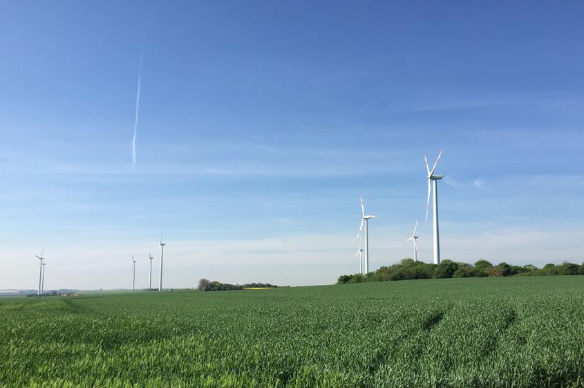 Windpark Ploetzkau 2016