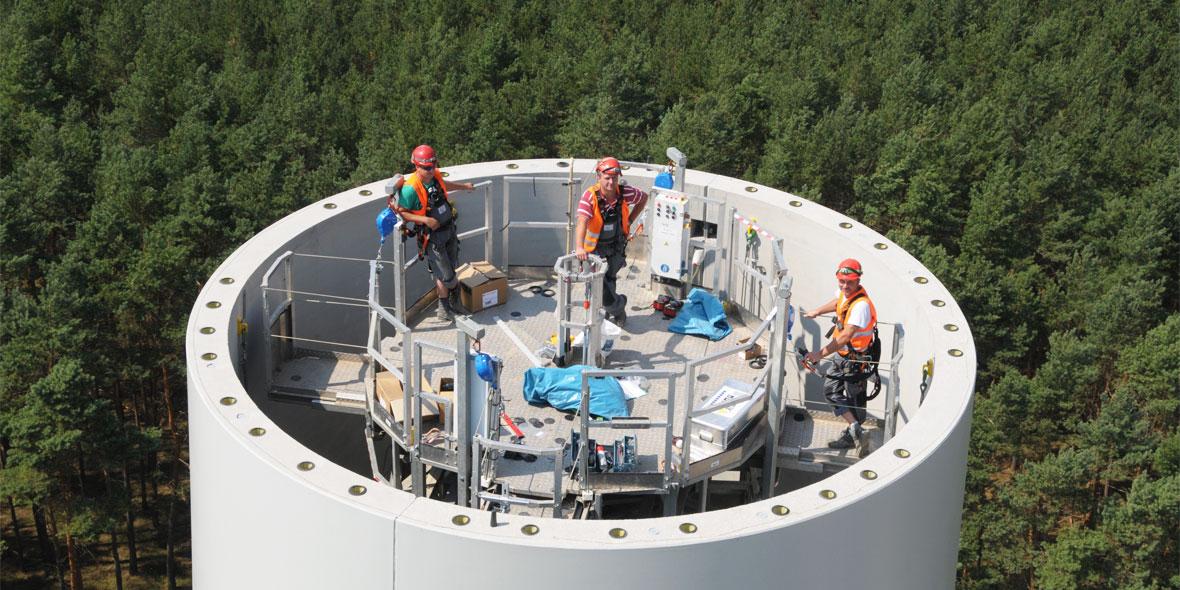 BEZ Montage GmbH im Ring oben